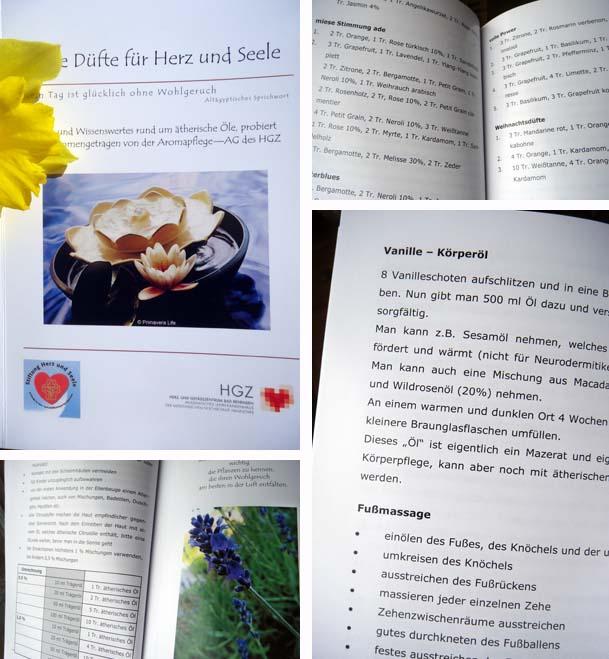 Aromapflege am Herzzentrum Bevensen