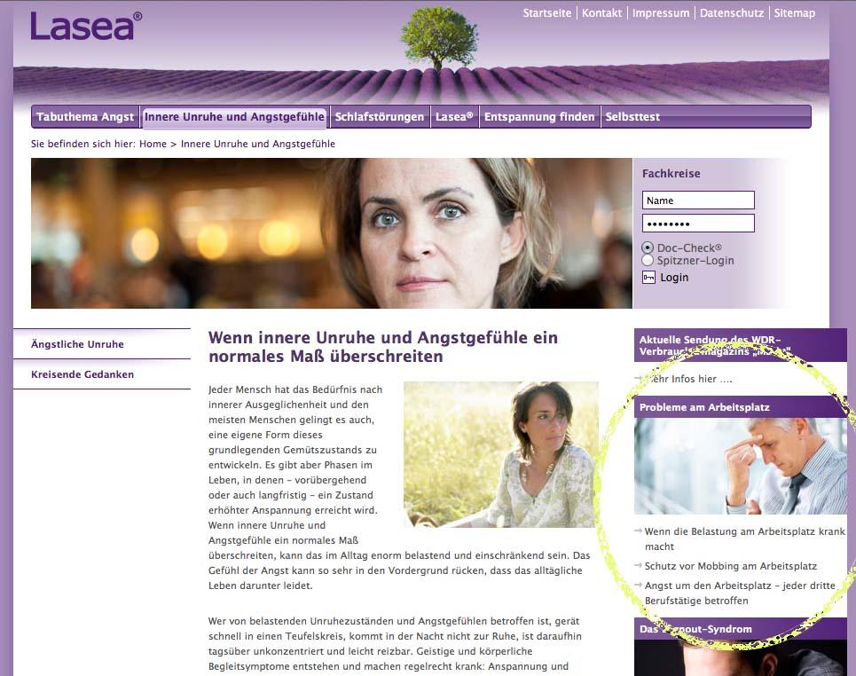 Eliane Zimmermann Informationen über angstlösende Wirkung von Lavendelöl