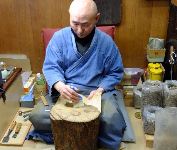 Besuch bei Shoyeido in Kyoto