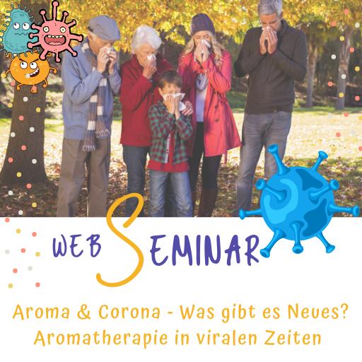 WebSeminar - Aroma & Corona - Aromatherapie Eliane Zimmermann