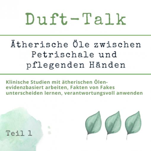 WebSeminar - Duft Talk 1 - Aromatherapie Eliane Zimmermann