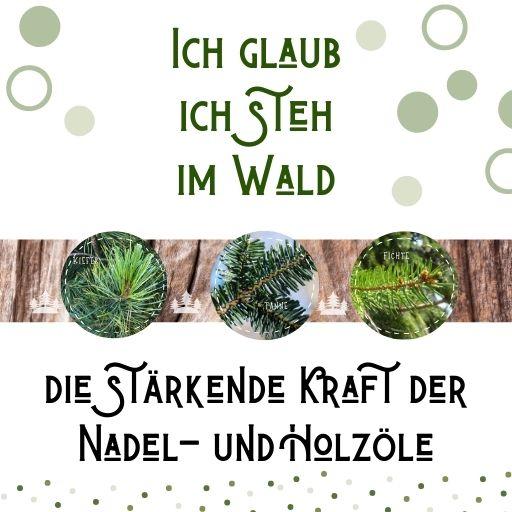 WebSeminar Ich glaub ich steh im Wald - Aromatherapie Eliane Zimmermann